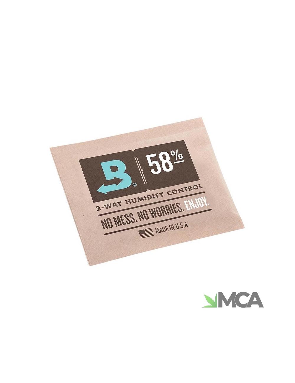Boveda Feuchtigkeitsregler 58 % RH, 1 g & 4 g